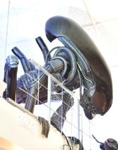 hovering alien