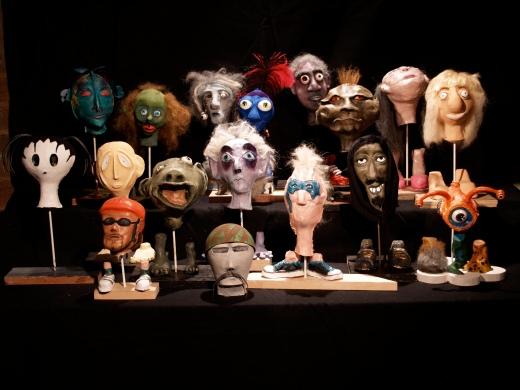 puppet heads