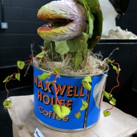 Little shop of Horrors Audrey Puppet- Charlotte Cameron-Webb