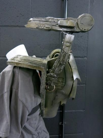 Animatronic Predator shoulder gun- Guy Watson