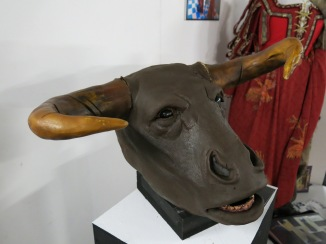 Minotaur head- Megan Hamber